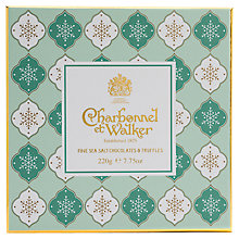 Buy Charbonnel et Walker Fine Seasalt Chocolate Selection, Box of 20, 220g Online at johnlewis.com