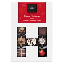 Buy Hotel Chocolat 'Classic Christmas' H-Box, Box of 15, 155g Online at johnlewis.com