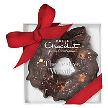 Buy Hotel Chocolat Small Cookie Wreath Online at johnlewis.com