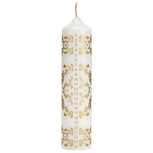 Buy John Lewis Ostravia Advent Pillar Candle Online at johnlewis.com
