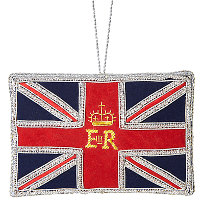 Image of Tinker Tailor Tourism ER Great Britain Flag Bauble