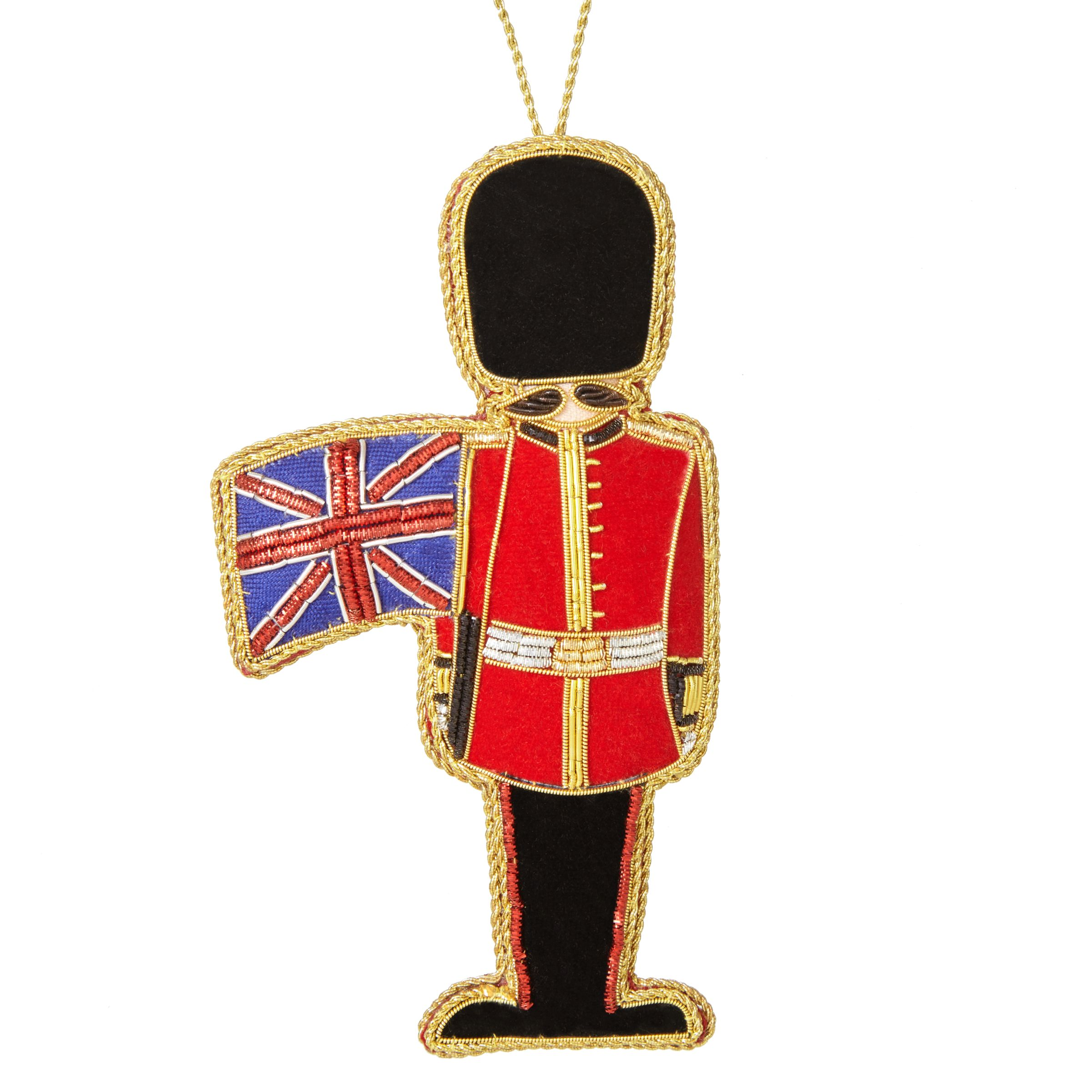Tinker Tailor Tinker Tailor Tourism Soldier With Flag Tree Decoration