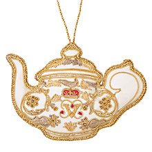 Buy Tinker Tailor Tourism British Teapot Tree Decoration Online at johnlewis.com