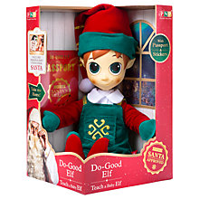 Buy Portable North Pole Boy Elf Online at johnlewis.com