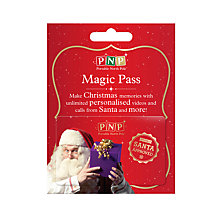 Buy Portable North Pole Magic Gold Pass Online at johnlewis.com