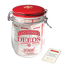Buy Portable North Pole Good Deed Jar Online at johnlewis.com