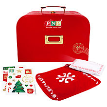 Buy Portable North Pole Elf Activity Suitcase Online at johnlewis.com