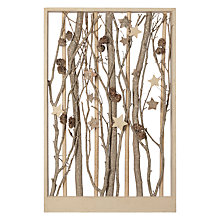 Buy John Lewis Snowshill Whitewash Flitter Rectangle Panel Online at johnlewis.com