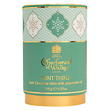 Buy Charbonnel et Walker Dark Chocolate Mint Thins, 195g Online at johnlewis.com