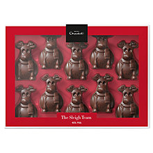 Buy Hotel Chocolat 'The Sleigh Team' Tiddly-Milks Online at johnlewis.com