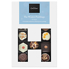Buy Hotel Chocolat 'Winter Pudding' H-Box, Box of 14, 170g Online at johnlewis.com