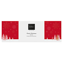 Buy Hotel Chocolat 'Classic Christmas Sleekster', Box of 30, 305g Online at johnlewis.com