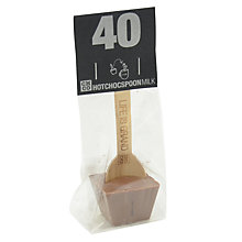Buy The Chocolate Company Milk Chocolate Stirrer, 50g Online at johnlewis.com