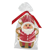 Buy Image on Food Santa Gingerbread Biscuit, 55g Online at johnlewis.com