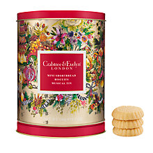 Buy Crabtree & Evelyn Mini Shortbread Biscuits & Musical Biscuit Tin, 200g Online at johnlewis.com