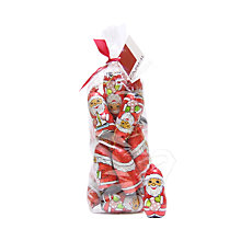 Buy Farhi Santa Milk Chocolate Hanging Tree Decorations, 260g Online at johnlewis.com