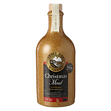 Buy Lyme Bay Christmas Mead, Stoneware Bottle, 50cl Online at johnlewis.com