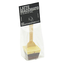 Buy The Chocolate Company Hot Chocolate Latte Macchiato Stirrer, 50g Online at johnlewis.com