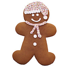 Buy Gingerbread Man, 225g, Extra Large Online at johnlewis.com