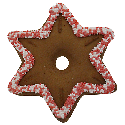 Image of Gingerbread Tree Decorations, Assorted Designs, 35g