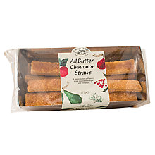Buy Cottage Delight Cinnamon Straws, 175g Online at johnlewis.com