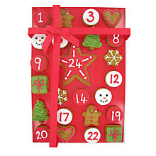 Buy Image on Food Gingerbread Advent, 325g Online at johnlewis.com