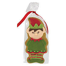 Buy Image on Food Elf Gingerbread Biscuit, 55g Online at johnlewis.com