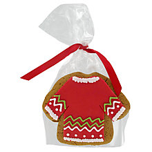 Buy Image on Food Christmas Jumper Biscuit, 55g Online at johnlewis.com