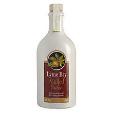 Buy Lyme Bay Mulled Cider, Stoneware Bottle, 50cl Online at johnlewis.com