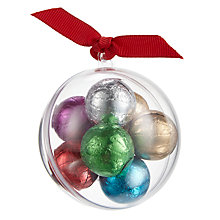 Buy Farhi Bauble With Foiled Milk Chocolate Balls, 50g Online at johnlewis.com