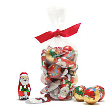 Buy Farhi Foiled Milk Chocolates For Advent Calendar, Bag of 24, 200g Online at johnlewis.com