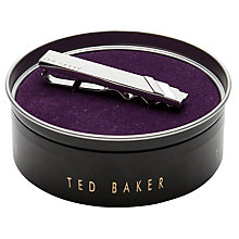 Buy Ted Baker Stopin Semi-Precious Stone Tie Bar, Silver Online at johnlewis.com