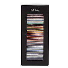 Buy Paul Smith Multi Stripe Socks, Pack of 3, One Size, Multi Online at johnlewis.com