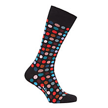 Buy Paul Smith Polka Dot Socks, Single Pair Online at johnlewis.com