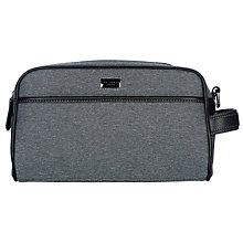 Buy Ted Baker TB Nylon Wash Bag, Grey Online at johnlewis.com
