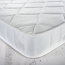 Buy little home at John Lewis 15cm Deep 1000 Pocket Spring Water Resistant Mattress, Single Online at johnlewis.com