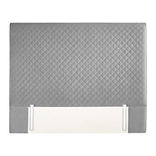 Buy John Lewis Natural Collection Brooklyn Full Height Headboard, King Size Online at johnlewis.com