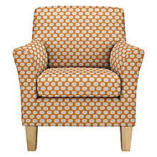 Buy John Lewis The Basics Corey Armchair, Light Legs Online at johnlewis.com