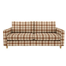 Buy John Lewis Bailey Large Sofa, Light Legs Online at johnlewis.com