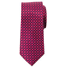Buy John Lewis Geo Circle Silk Tie Online at johnlewis.com