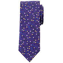 Buy John Lewis Vertical Ditsy Square Silk Tie Online at johnlewis.com
