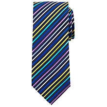 Buy John Lewis Ronalds Rainbow Silk Tie, Multi Online at johnlewis.com