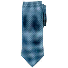 Buy John Lewis Satin Mini Tile Silk Tie Online at johnlewis.com