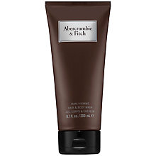 Buy Abercrombie & Fitch Hair & Body Wash, 200ml Online at johnlewis.com