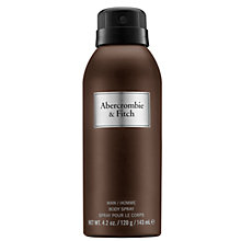 Buy Abercrombie & Fitch First Instinct Body Spray, 143ml Online at johnlewis.com
