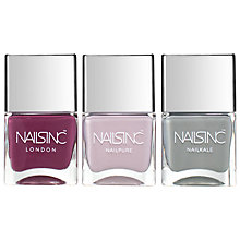 Buy Nails Inc Autumn Winter Trio Kit Online at johnlewis.com