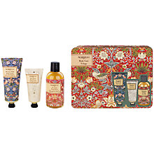 Buy Heathcote & Ivory Morris & Co Strawberry Thief Body Care Set Online at johnlewis.com