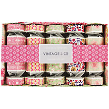 Buy Heathcote & Ivory Vintage Fabric & Flowers Crackers Gift Set Online at johnlewis.com