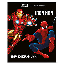 Buy Marvel Collection Iron Man Spider-Man Book Online at johnlewis.com