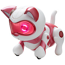 Buy Teksta Robotic Newborn Jumping Kitty Online at johnlewis.com